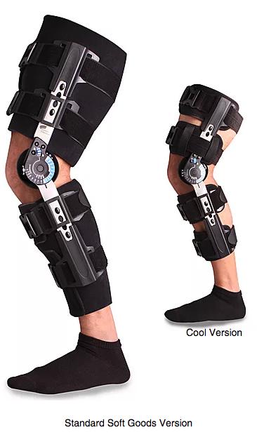 post op knee braces